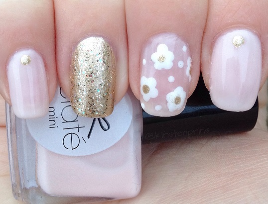 Marc Jacobs Daisy Inspired Nails Once Upon A Blog