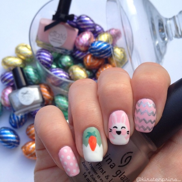 Easter Nail Art Once Upon A Blog