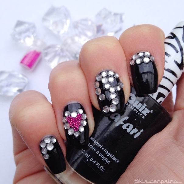 Celebrity Nail Artist: Celebrity Nail Art: Lady Gaga