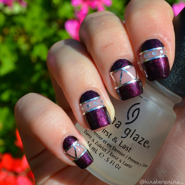 Cut Out Nail Art Once Upon A Blog