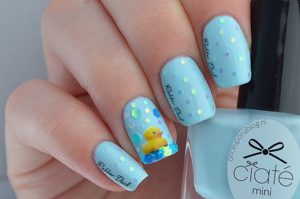 Rubber Duck Nails Once Upon A Blog
