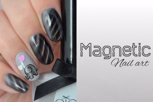 Magnetic Nail Art Once Upon A Blog
